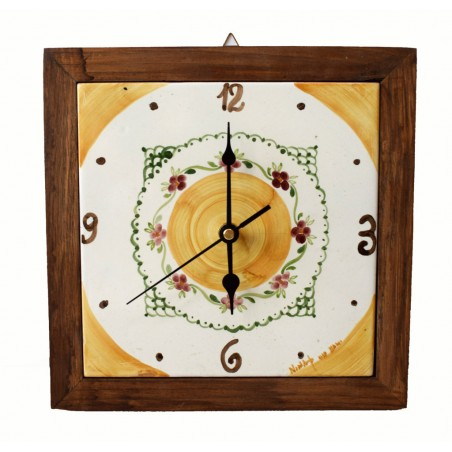 Orologio da muro Linea Classica Dimensioni 25 x 25 cm.