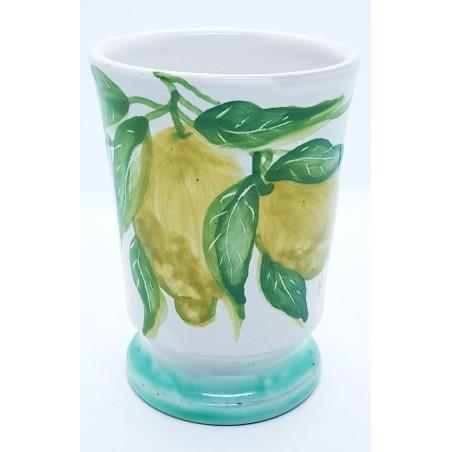 Bicchiere Portaspazzolini Linea Limoni